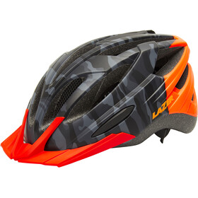 Lazer Vandal Cykelhjälm mat black camo/flash orange